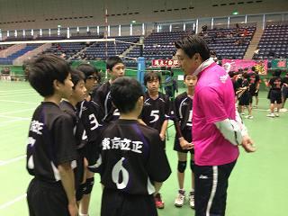 東京立正中学男子バレーボール部