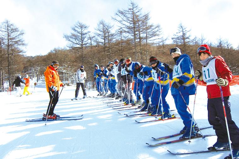 スキー教室(高校1年生)2泊3日